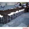 Modern Acrylic Nightclub Pub Cafe Coffee Juice Shop Bar Furniture Counter Drinking Table