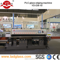 10 spindle glass machine to polishing edge