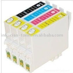 refillable ink cartridge T0761-T0764 for EPSON C58/ME2/ME20/ME200/CX2800