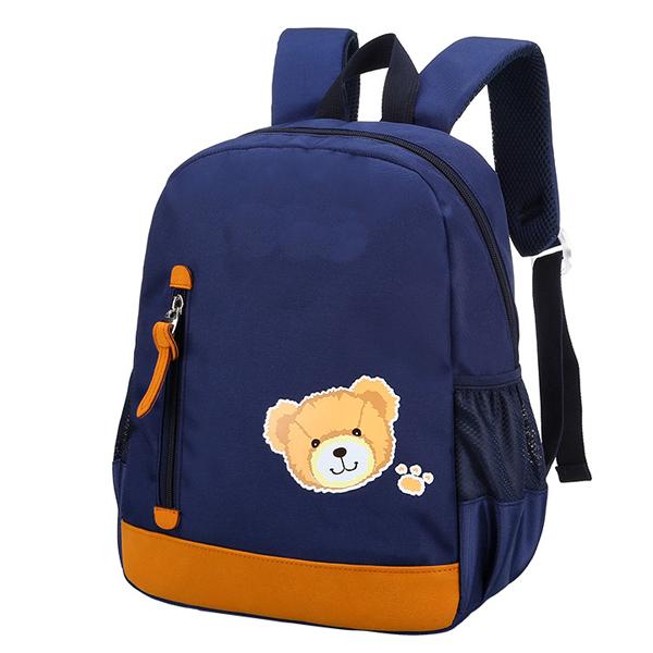 5a5ecde76228 New Models Custom Printing Logo Polyester Fabric Pop Kid School Bag Backpack  For Kids