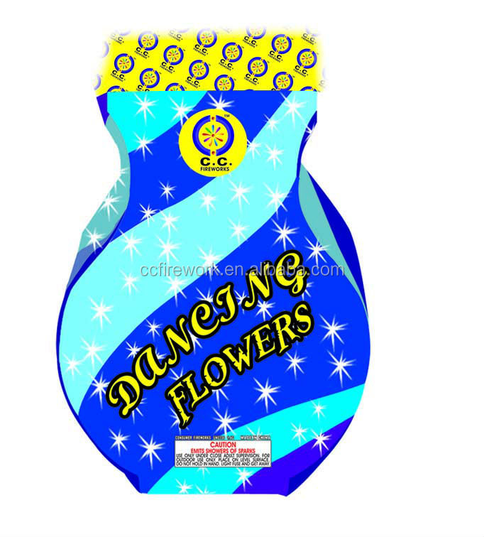 New products 2014 for DANCING FLOWERS Fountains fireworks and firecrackers