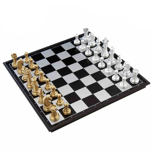 Fixture display beautiful magnetic chess set