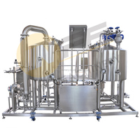 CE standard Homebrewing Craft Beer Making Kit Machine Craft Beer Brewery Equipment 500L