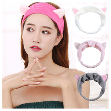 <span class=keywords><strong>Coreano</strong></span> del hairband di stile di sport animale cute Cat Orecchio Fascia <span class=keywords><strong>Dei</strong></span> <span class=keywords><strong>Capelli</strong></span>