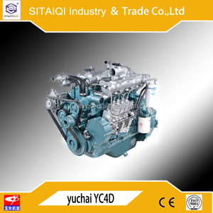 brand new Yuchai marine diesel engine YC4D130-20 boat engine for fishing boat