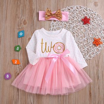 Baby Girl Dress Girls Dress Tolldler Kids Clothes Baby 1st First Birthday dresses