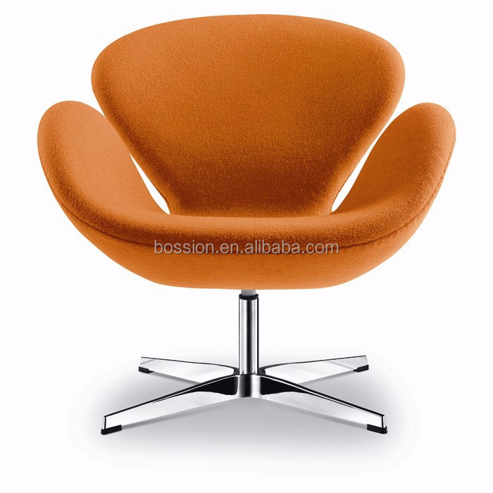 Arne jacobsen aluminum swan chair replica for home and for Swan chair nachbau