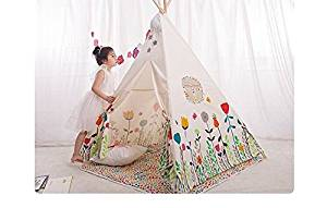 Get Quotations · Sangdo White Kids Teepee Tent For kids Child Tent Kids Play Tent Indian Teepee With Mat  sc 1 st  Alibaba.com & Cheap Play Teepee For Kids find Play Teepee For Kids deals on ...