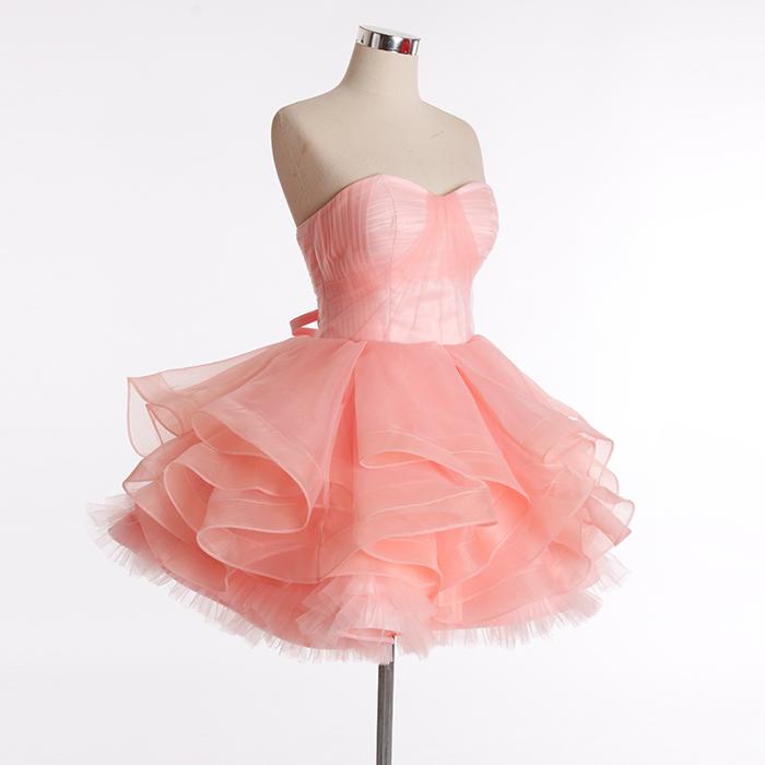 RSM6696 rosa chica de estilo occidental formal de baile vestido ...