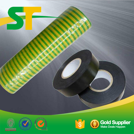 Black Globe PVC Electrical Insulating Tape For Automobile Wire Harness
