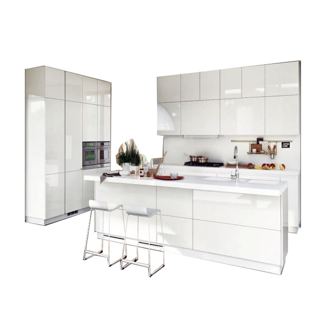 Furniture In Bulacan Philippines Warm White Lacquer Integral Kitchen