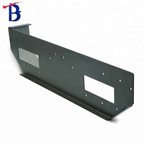 Short run metal stamping Bending Punching Carbon Steel Auto Parts with Powder Coat