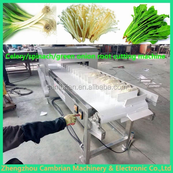 Easy operation asparagus root cutter machine with lowest price