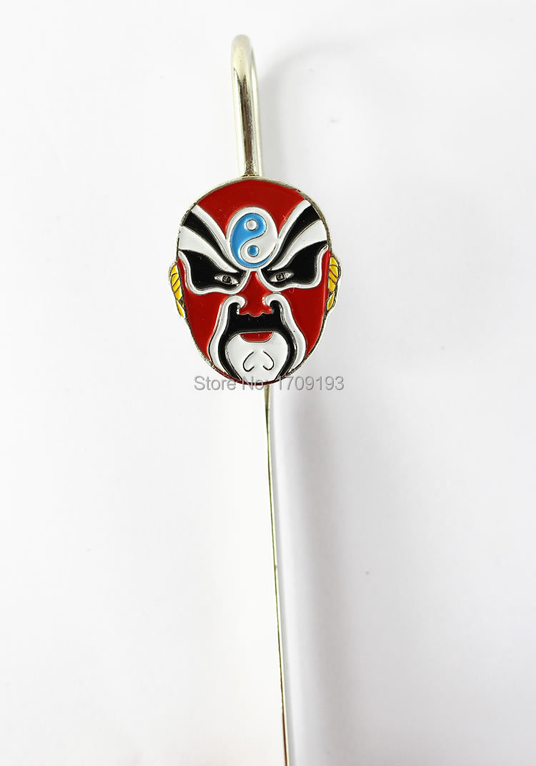 CRAZY DISCOUNT Free Shipping Chinese style Classical Peking Opera Alloy Metal bookmark Stationery Novelty Gift