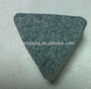 Ceramic triangular prism shape Polishing media (abrasives)