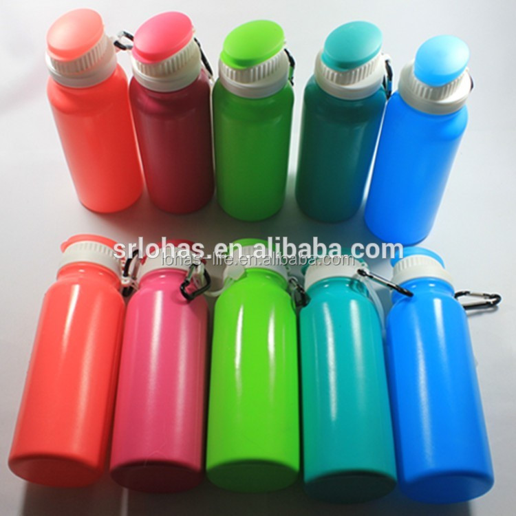 Outdoors Sports Bottles Foldable Silicon Water Bottle