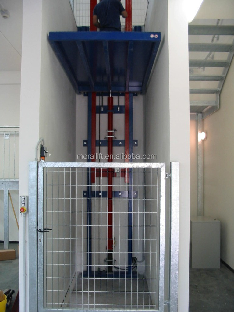 500kg electric goods lift