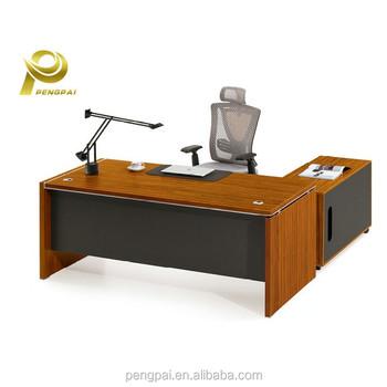 foshan office furniture fashion designer modular workstation work table with wire box