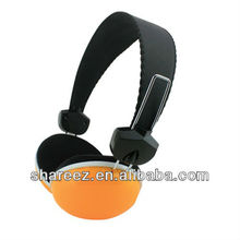 orange earcups headset for PC laptop