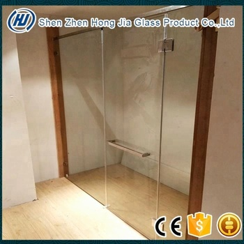 Hot sale tempered folding glass shower door panel