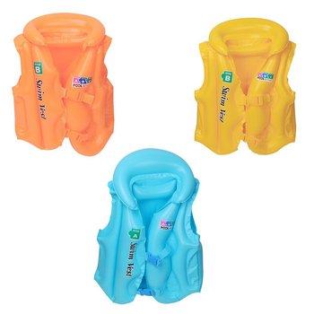 Children Inflatable Swim Suit Jacket Kid Summer Swimming Life Vest
