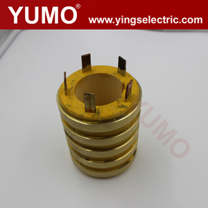 90X50X110-5 Factory price electrical manufacturers carbon brushes Customized Collector alternator slip ring