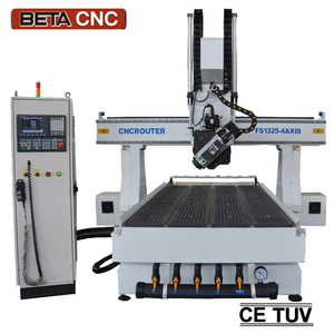 New design !! 4-axis cnc 3d molding machine engraving router for wooden walking sticks