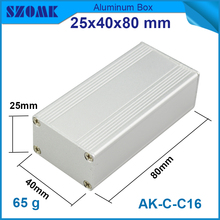 Aluminum extruded enclosures housing project box case