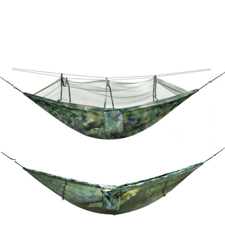 Hot Sale High Quality Outdoor Camping Travel Hammock With Mosquito Net