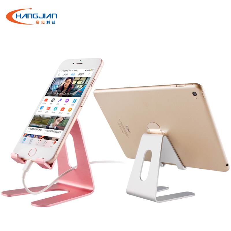 New Products Hot Sale Aluminum Desk Cradle Mobile Cell Phone Display Stand Holder