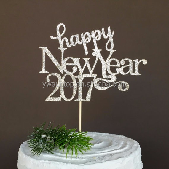 happy new year 2017 cake topper new years eve party decorations