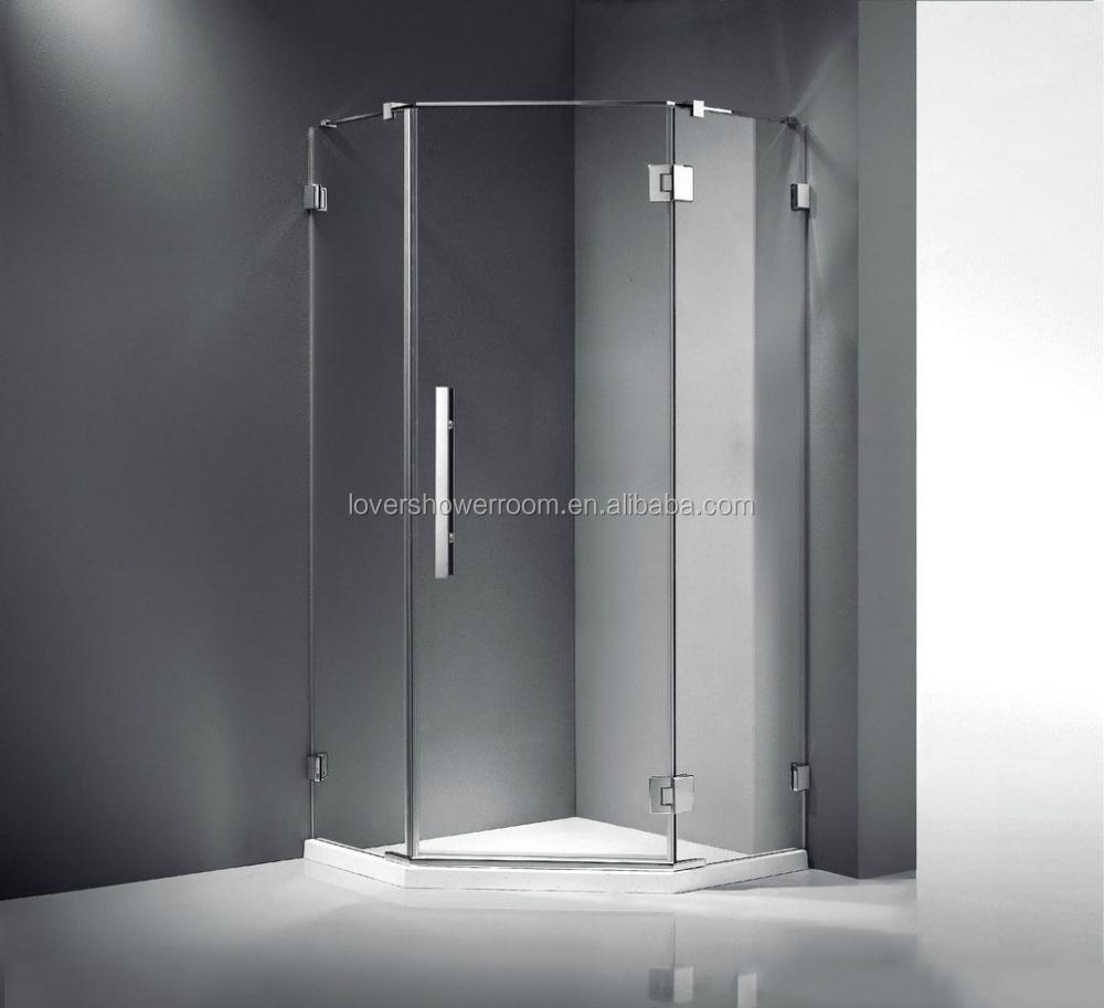 Venta al por mayor marco blanco cabina de ducha-Compre online los ...