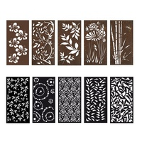 Laser Cut Metal Panel- Decorative Metal Sheets-Decorative Screens Panels