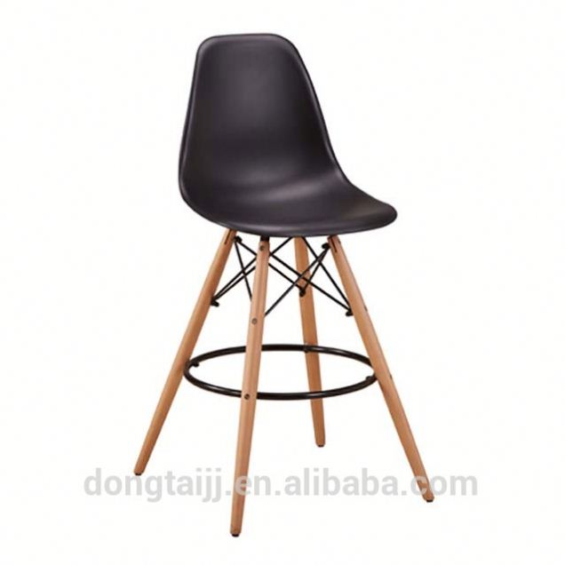 cheap bar stool sillas chair , PP ABS dining plastic bar stool chair ,charles bar chair sillas