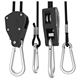 "Heavy duty led grow light hangers, 1/4"" hood hanger rope ratchet, pulley rope ratchet 1/4"""
