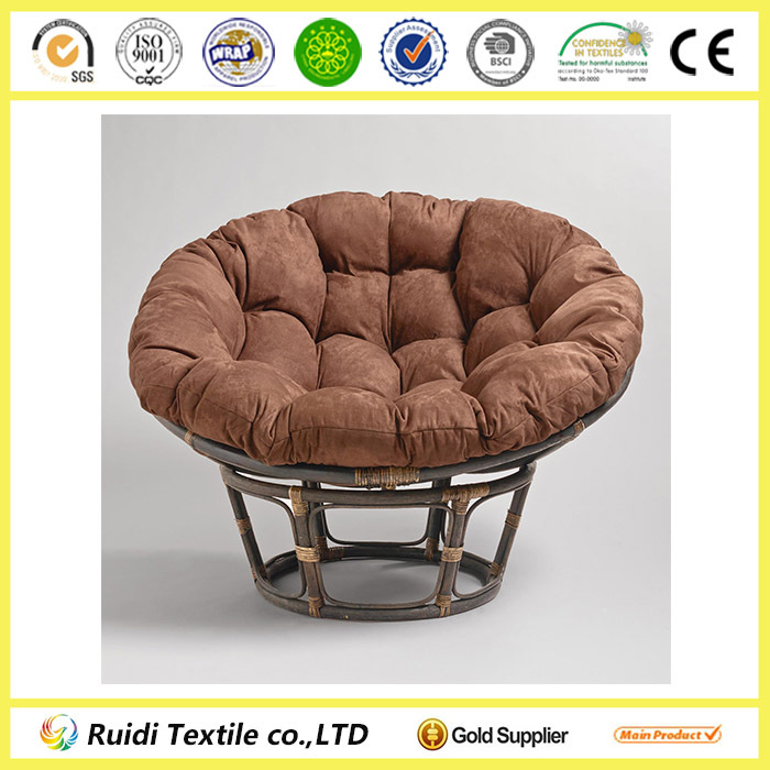 Plain Color Papasan Chair Cushion Round Wicker Chair Cushions