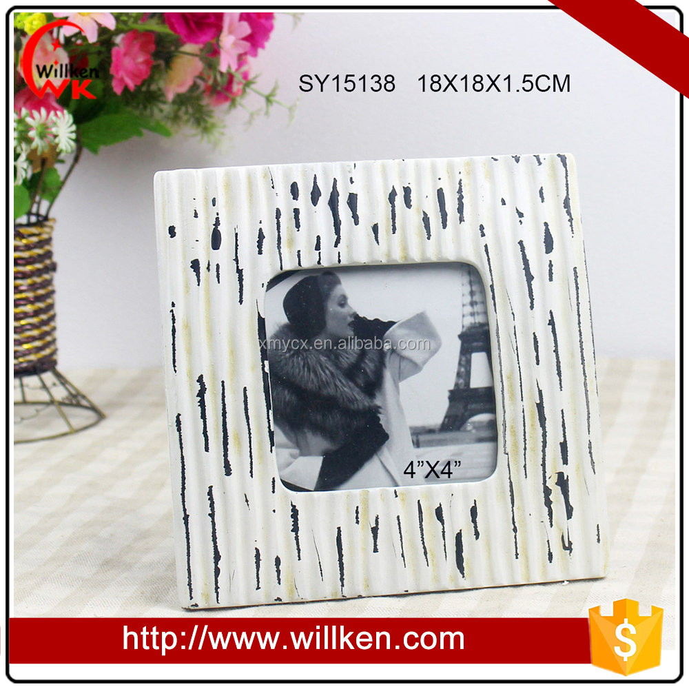 Wholesale White Square 4x4 Photo Frames Cheap