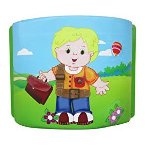 I DEPOT PLAY OFF TO WORK- WALL ACTIVITY PANEL FOR TODDLERS IM18