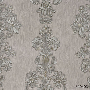 3D Pvc Wallpapers Classic Style Wall Paper For WallRustic Floral Wallpaper Bedroom TV Background
