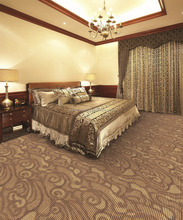 Hot sale cheap loop pile jacquard indoor hotel living room carpet lowes carpet
