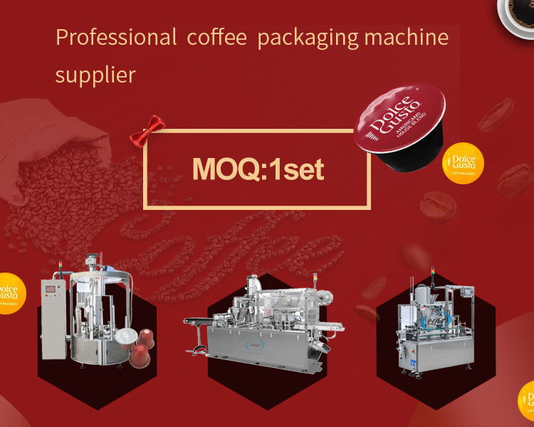 Most popular lavazza coffee capsule filling and sealing machine