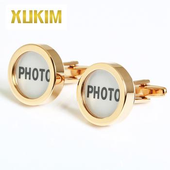 Kcl008 Xukim Custom Photo Logo Birthday Wedding Gift Cufflinks Buy