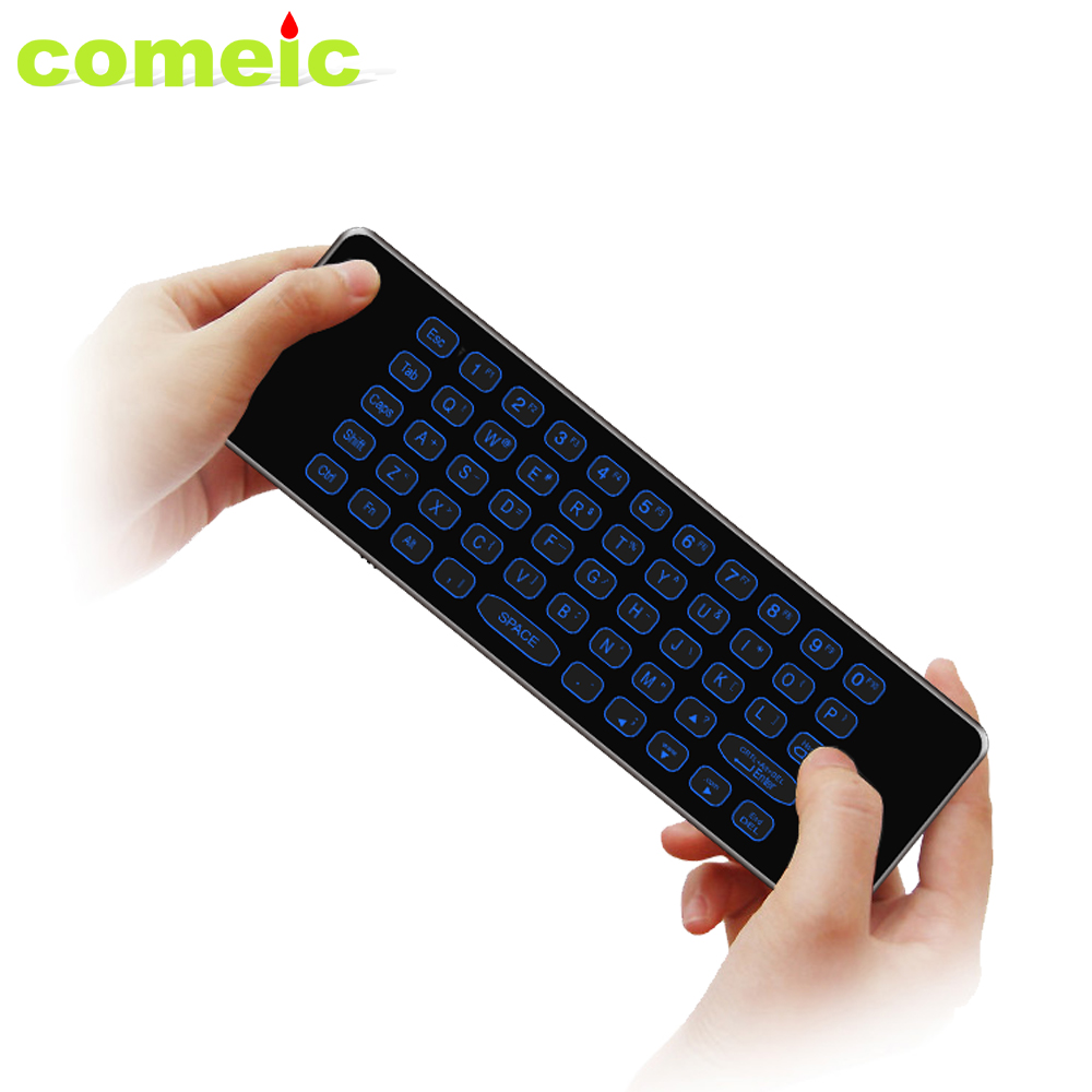 Universele Usb Android Mini Wireless Air Mouse RF PC Computer Keyboard Combo Met IR Afstandsbediening Voor Tcl Onida En smart Tv
