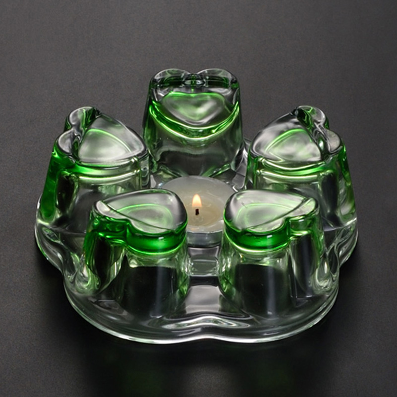 Термостойкий стеклянный чайник с держателем, подсвечник, теплая основа, нагревательная печь, молочный кофе, чашка, подогреватель, варочный ...(Китай)