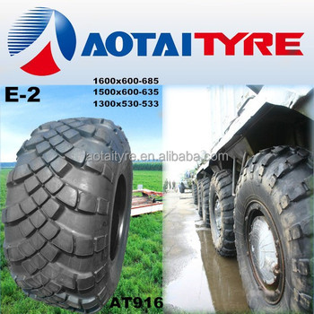High Quality Lowest Price 1300*530-533 Military Truck Tire