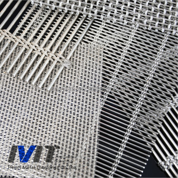 China Supplier Stainless Steel Decorative Wall Panel/wire Mesh For ...