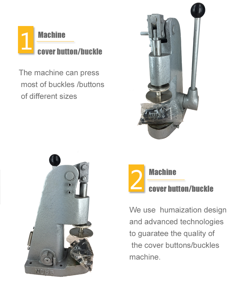 Hight quality cover buckles machine covered button machine