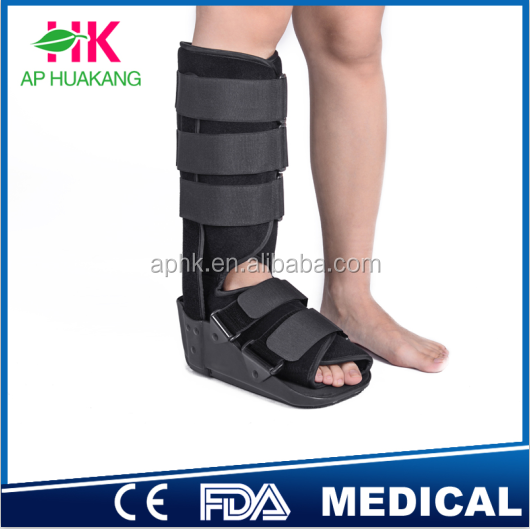 remarkably comfortable orthopedic walker brace for fractured foot and ankle.