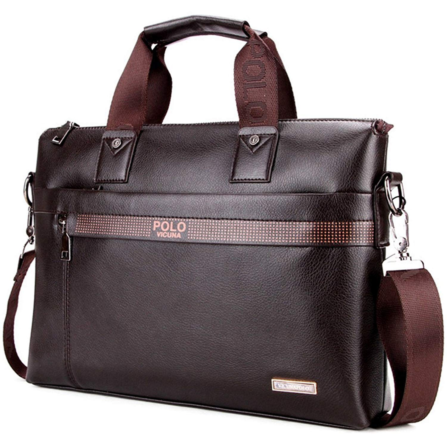 1d0d779ee34b Get Quotations · VICUNA POLO Man Briefcase Bag Messenger Bag Laptop Bag Man Bag  Shoulder Bag