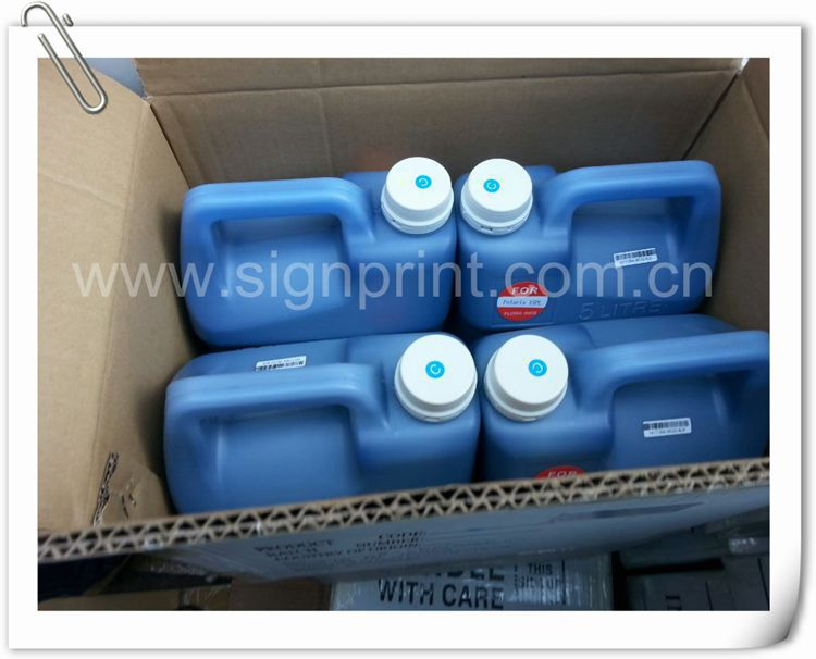 Factory price ! ! 5L package Flora solvent printing ink for spectra polaris printhead printer